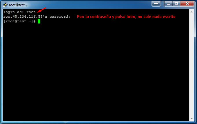 Putty Password